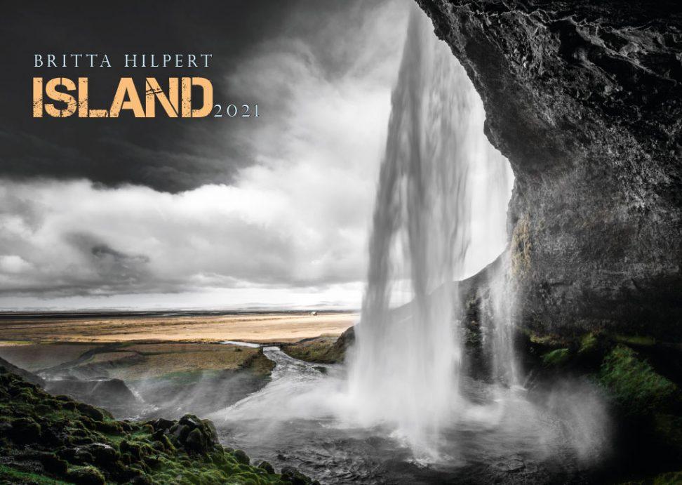 Wandkalender Island 2021