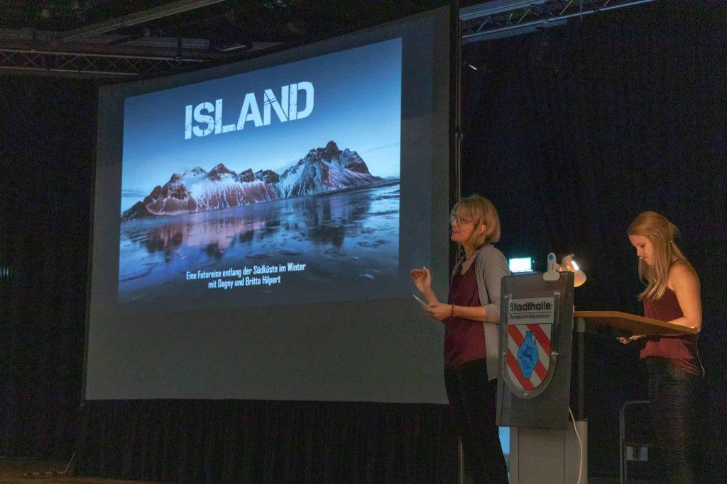 Landschaftsfotografie über Island gezeigt in einer Multimediashow in Ransbach-Baumbach - Westerwald