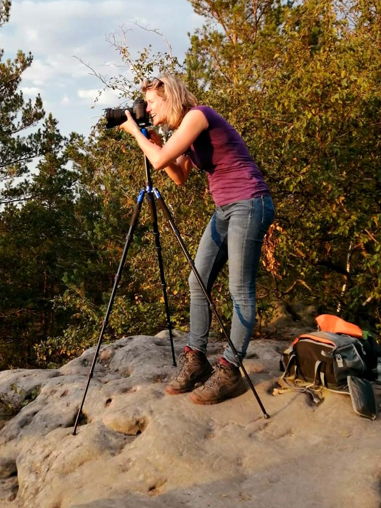 Britta Hilpert fotografiert Landschaften